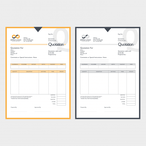 NCR Invoices and Forms by The Print Centre, Paisley and Johnstone