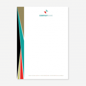 Letterheads by The Print Centre, Paisley and Johnstone