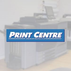 The Print Centre by Greenlaw Graphics Ltd, Paisley and Johnstone, Renfewshire